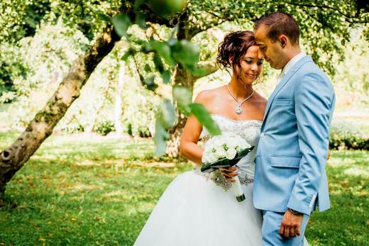 Nederlandse bruidsfotografie huwelijk bruiloft van Danny en Chantal in Slot Zuylen