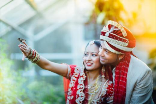 Hindoestaanse after wedding day bruidsfotografie huwelijk bruiloft Kiran en Sujata in Amsterdam