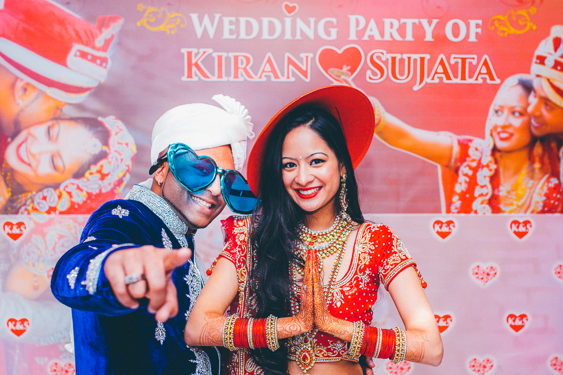 Huwelijksfotografie receptie van Kiran en Sujata, Partycentrum Zichtenburg, Den Haag