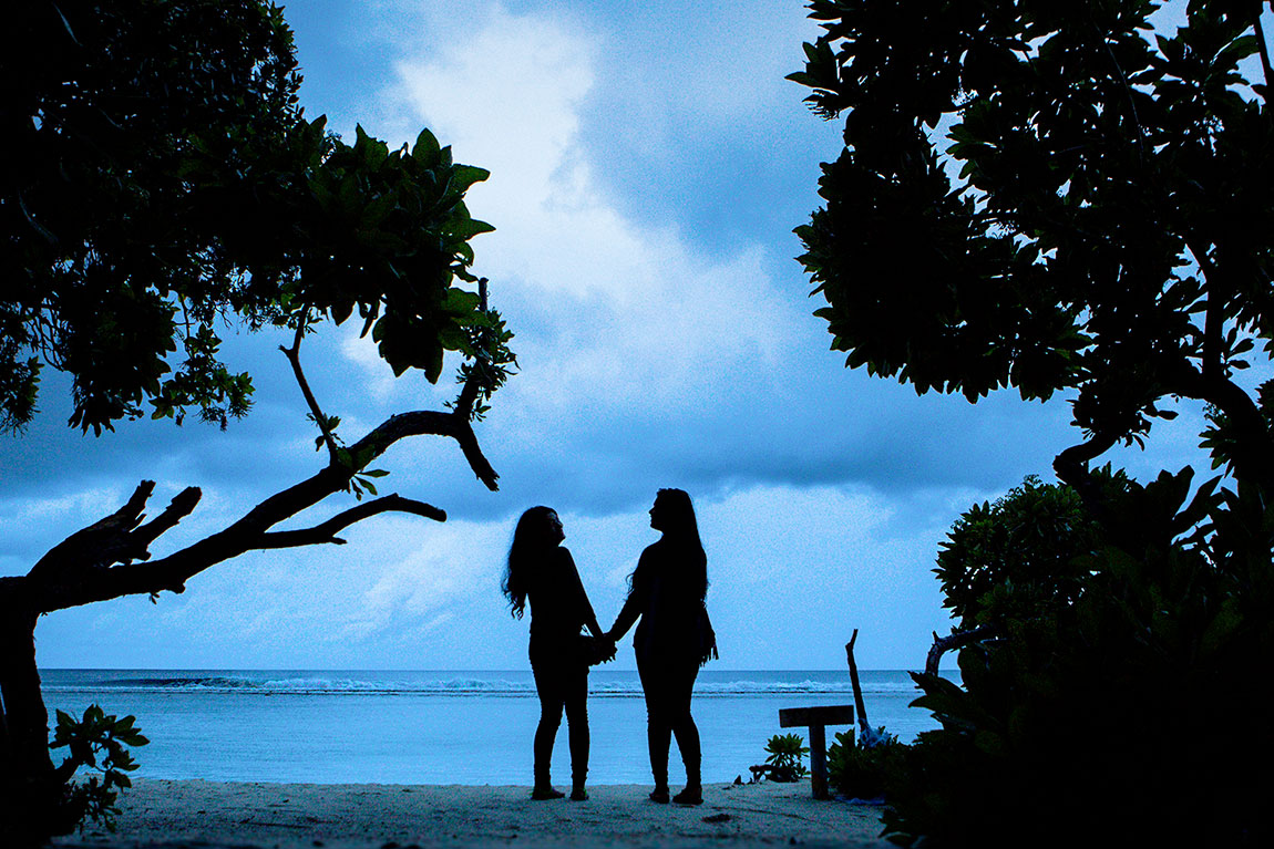 Girlfriends shoot in Male, Maldives