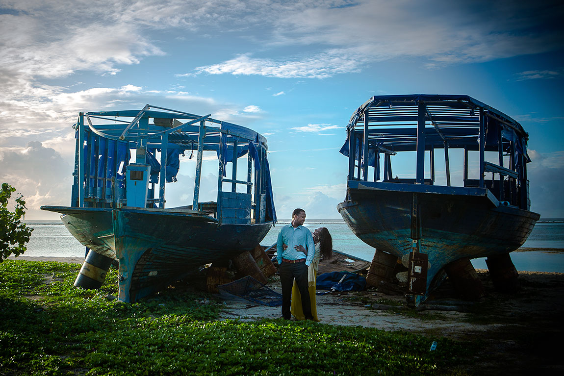 Loveshoot in Maafushi, Maldives