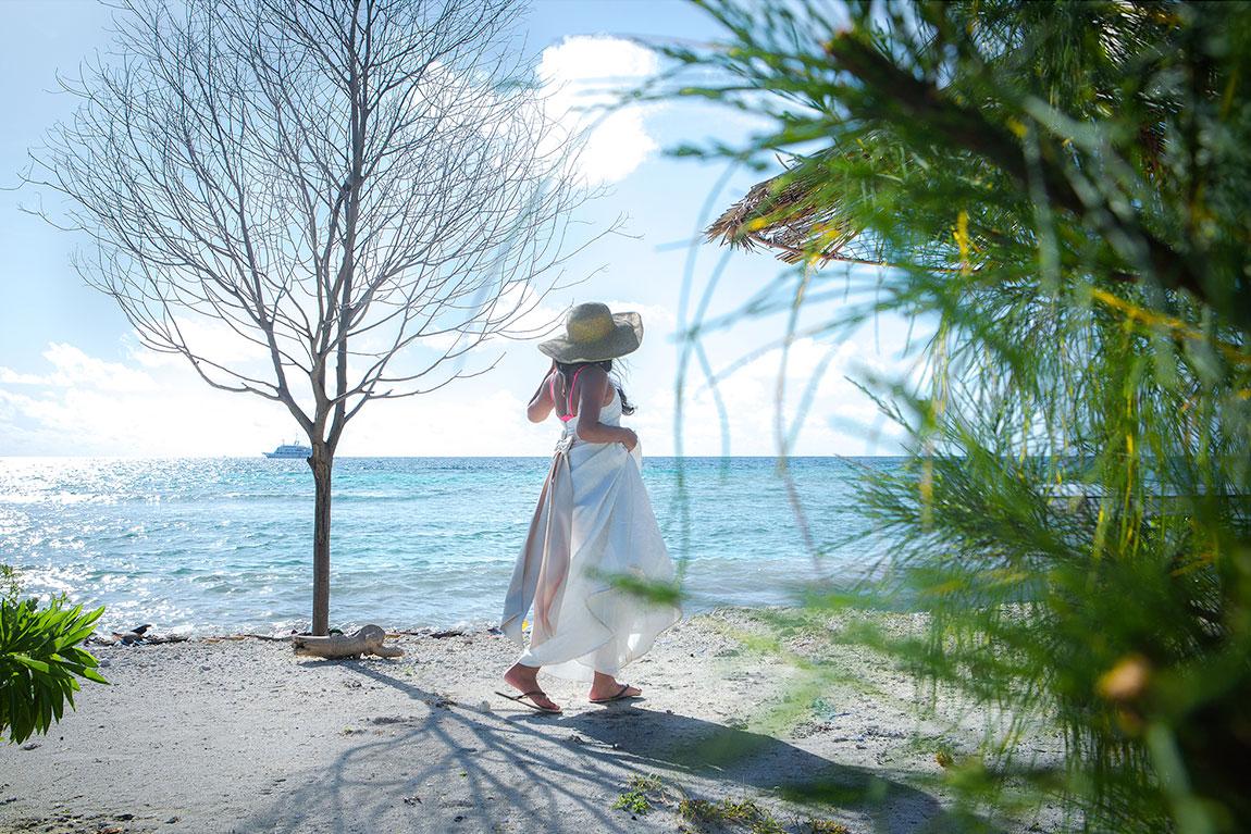 Wedding maid shoot in Male, Maldives