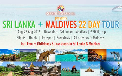 SRI LANKA + MALDIVES 22 DAY TOUR banner