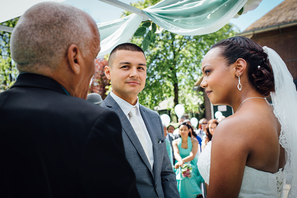 Bruidsfotografie van Jason en Shermayne in Amsterdam